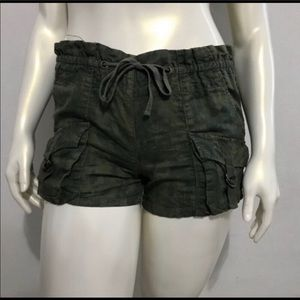 Free People Camouflage Cargo Shorts Size Small